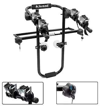 Bike Rack Brennero Estepe Roda Central - Kiussi