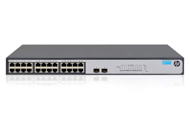Switch HPE 1420 24G PoE+ 124W