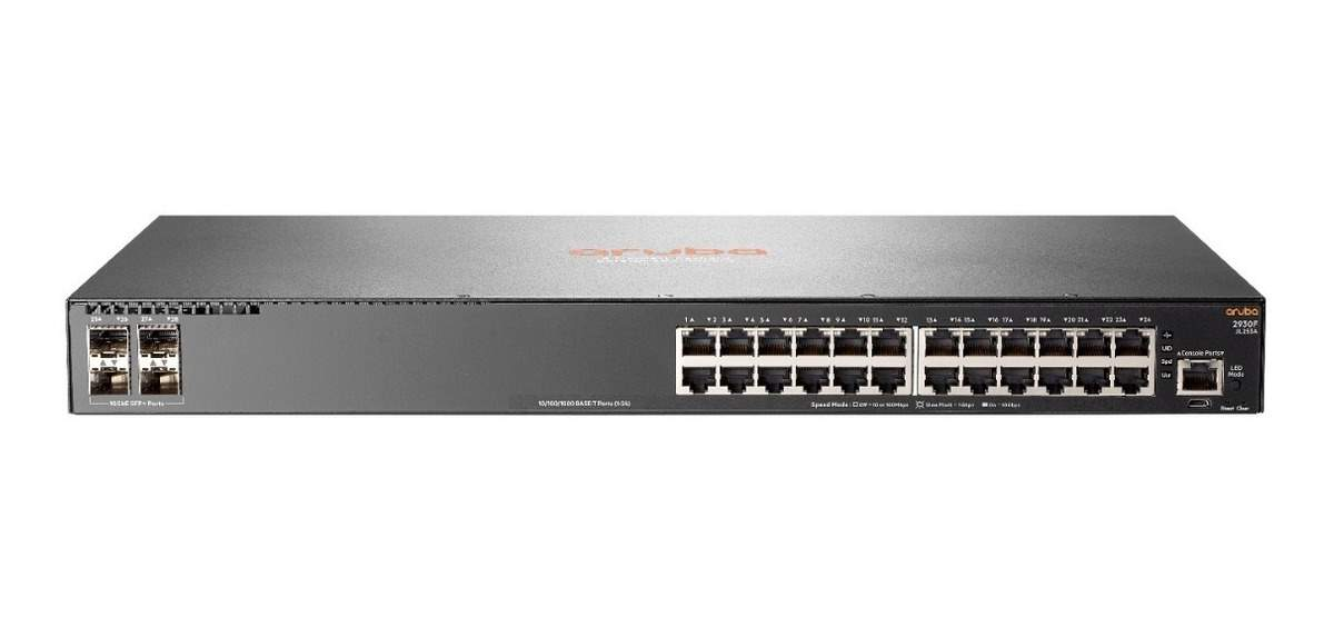 Switch Aruba 2930F 24G PoE+ 4SFP+