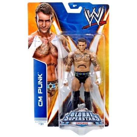 CM Punk WWE Basic 40 RARO ORIGINAL Pronta Entrega