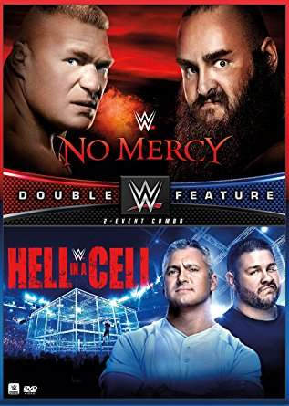 DVD WWE No Mercy & Hell In A Cell 2017 ORIGINAL Pronta Entrega
