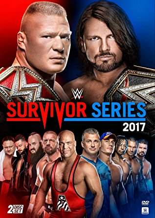 DVD WWE Survivor Series 2017 ORIGINAL Pronta Entrega