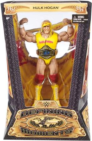 Hulk Hogan WWE Defining Moments ORIGINAL Pronta Entrega