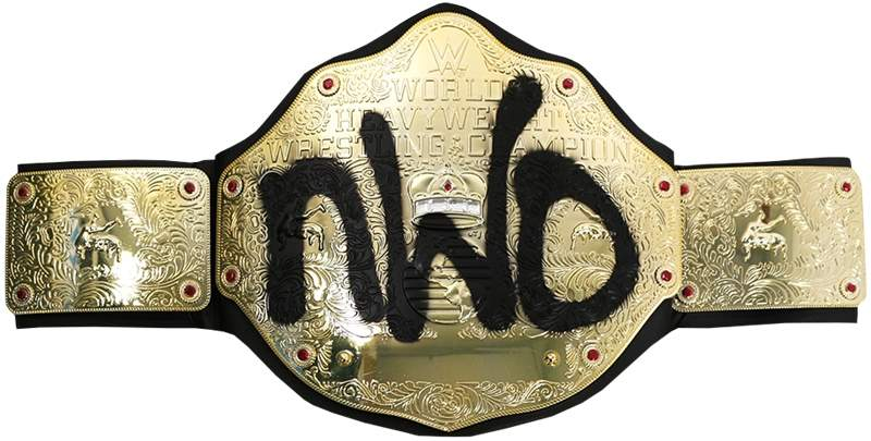 Cinturão WWE nWo World Heavyweight ORIGINAL Pronta Entrega