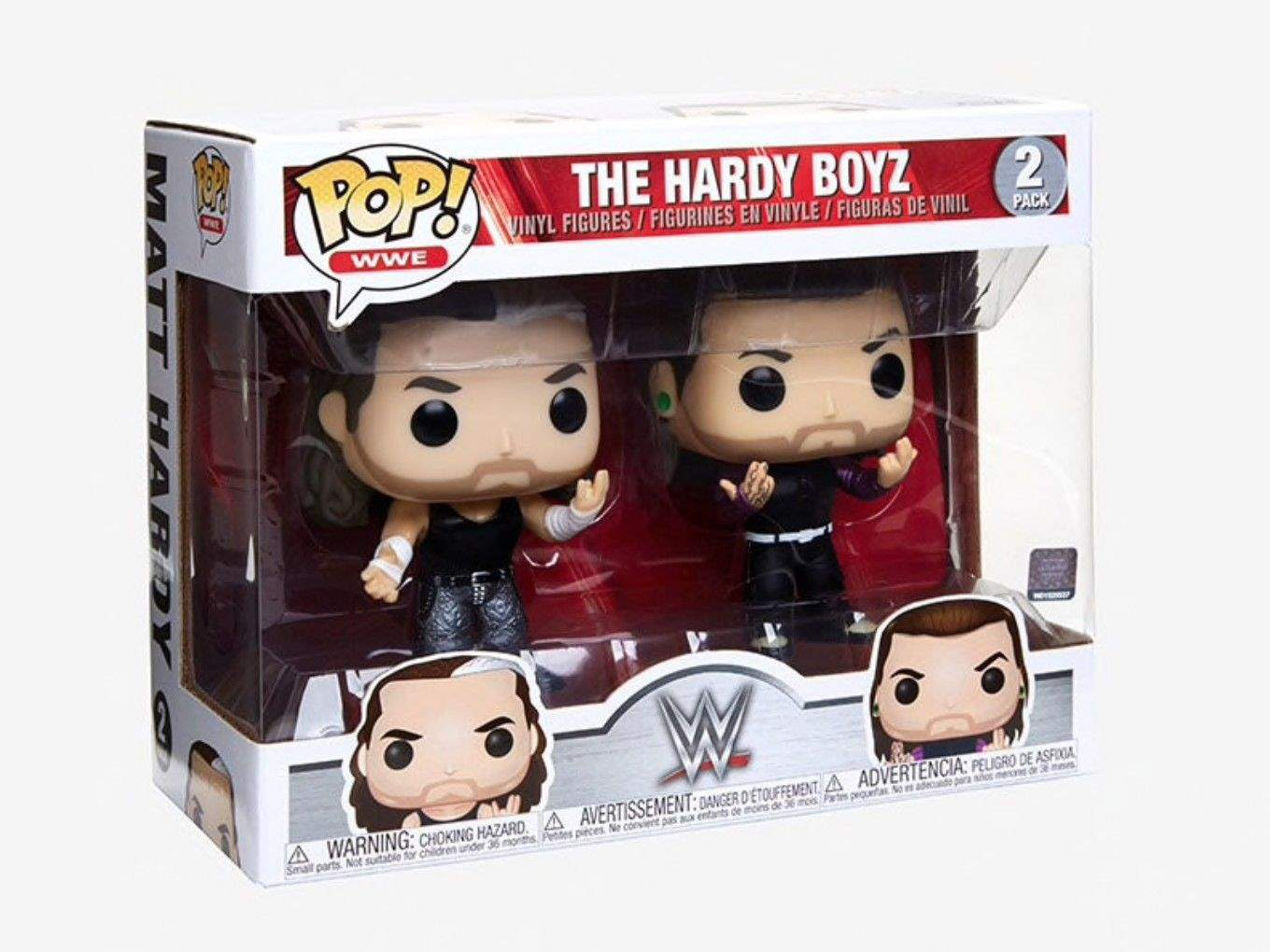 The Hardy Boyz WWE Funko Pop ORIGINAL Pronta Entrega