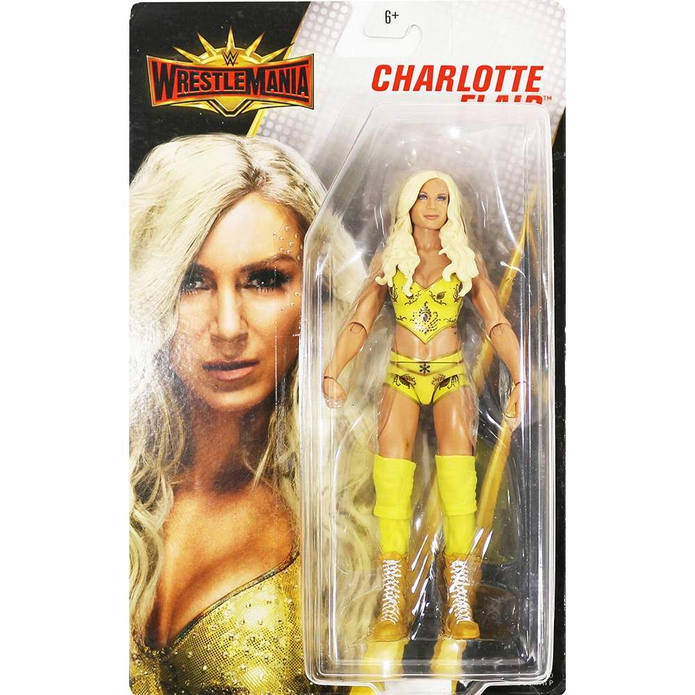 Charlotte Flair WWE Wrestlemania 35 ORIGINAL Com Brinde Pronta Entrega
