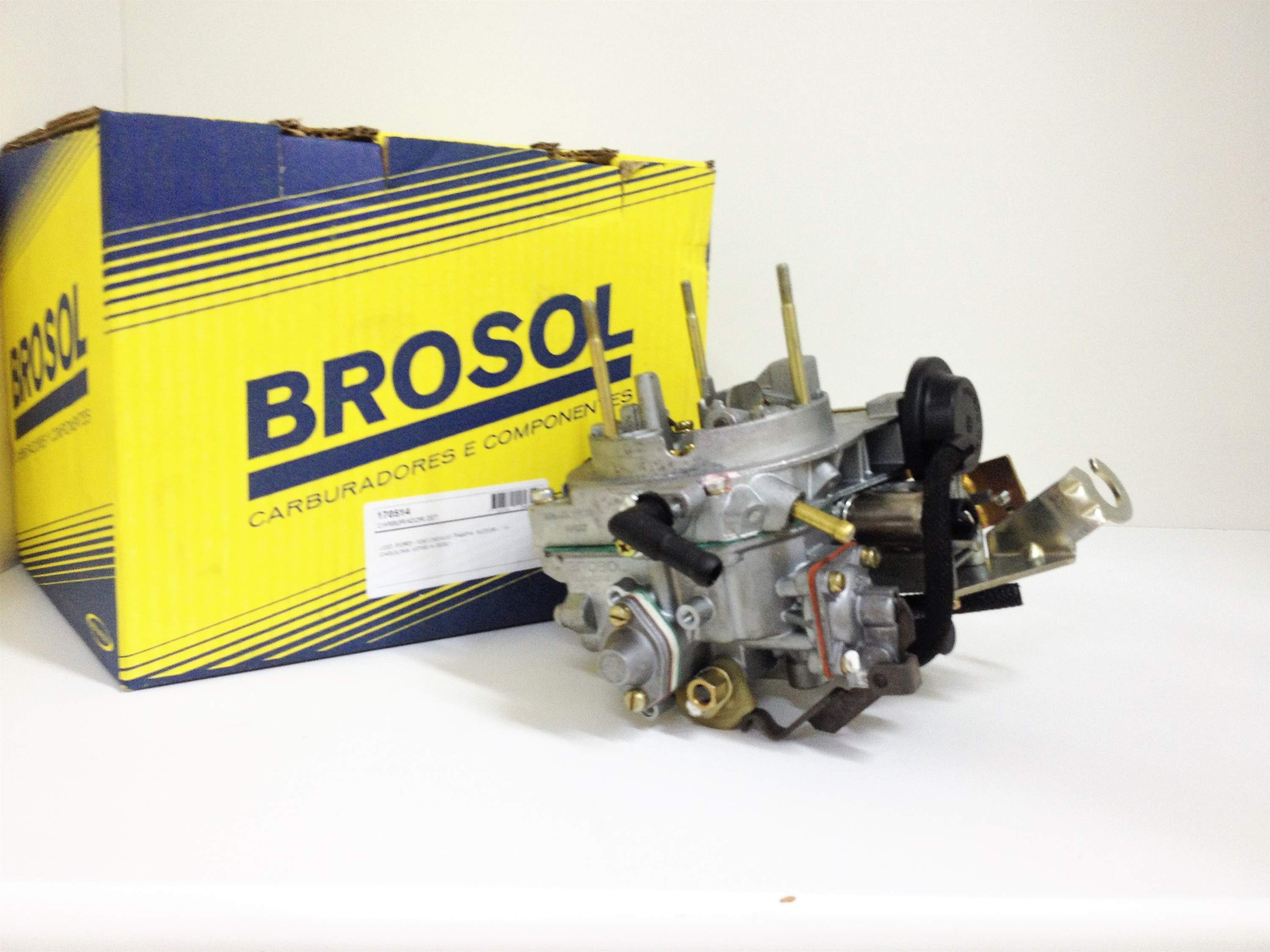 Carburador Brosol 2E Pampa 1.8 Ford Gas. (Novo)