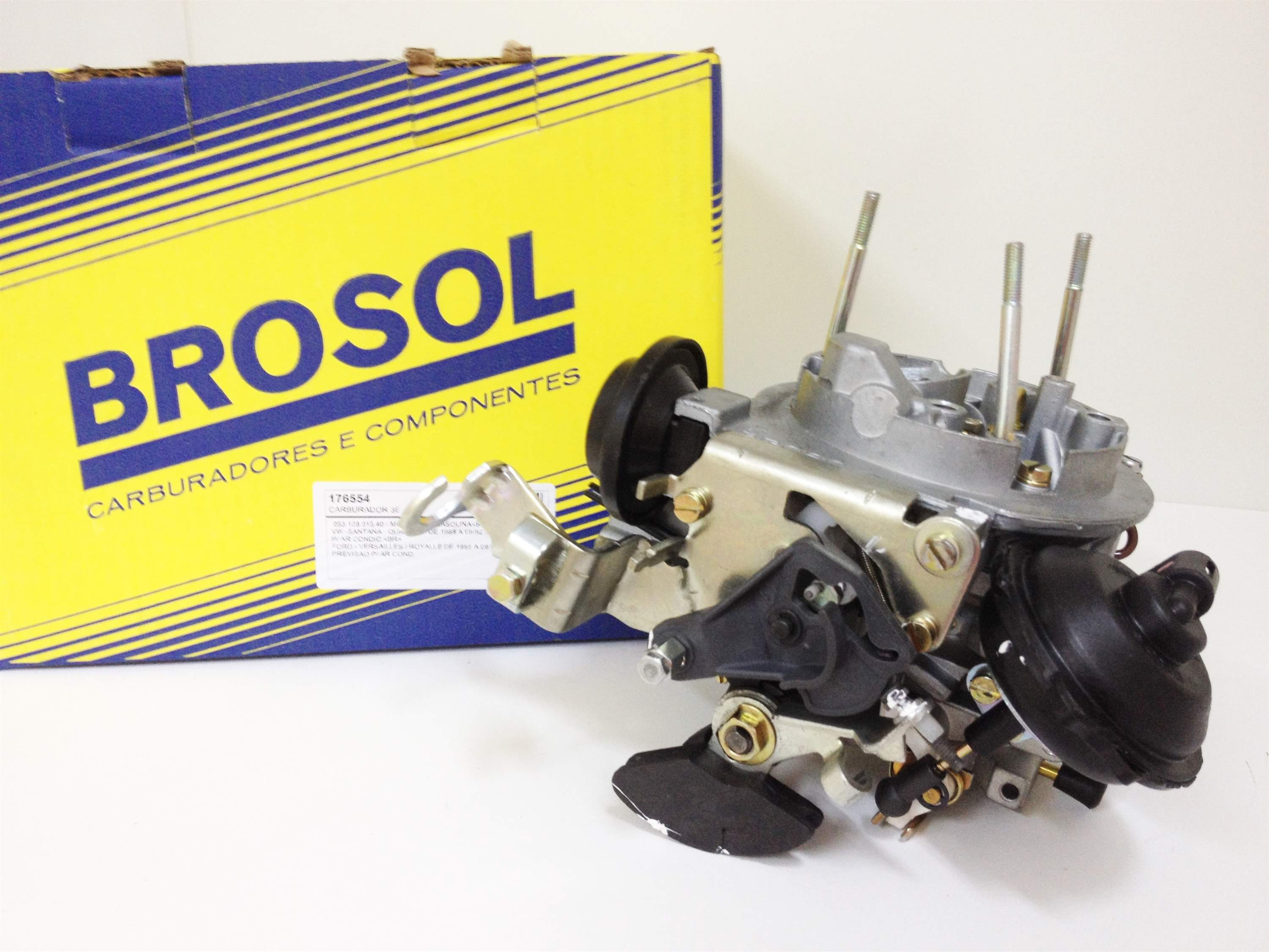 Carburador Brosol 3E 2.0 Gasolina VW-Ford  (Novo)