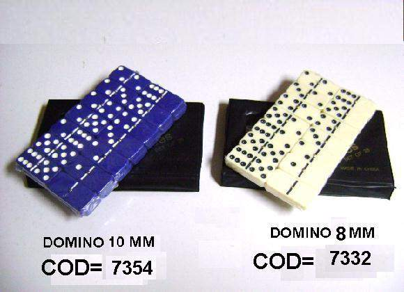 Domino 8 e 10 mm BJ POP