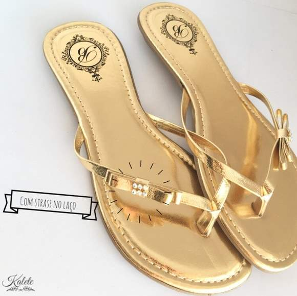 CHANEL (CONFORT) OURO
