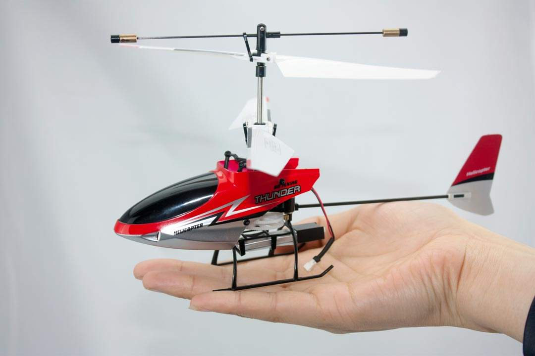 HELICOPTERO MINI com RadioControle 2.4G, 4Canais - RC mode 2 FULLEST ENERGY