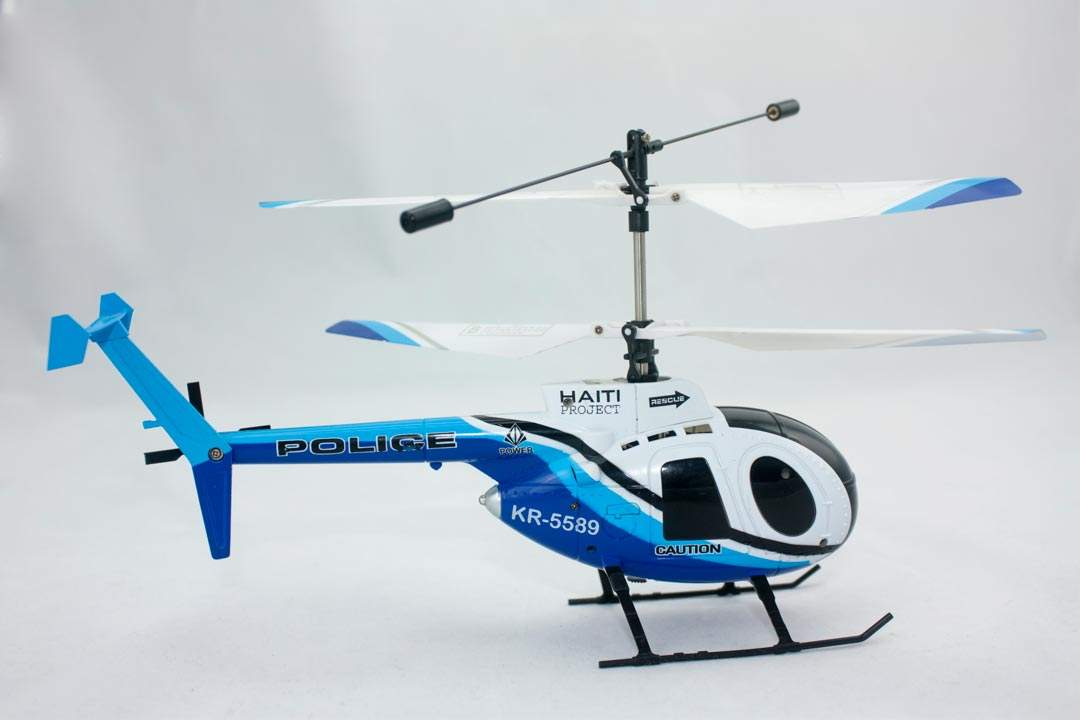 HELICOPTERO MINI com RadioControle 2.4G, 4Canais - RC mode 1 FULLEST ENERGY