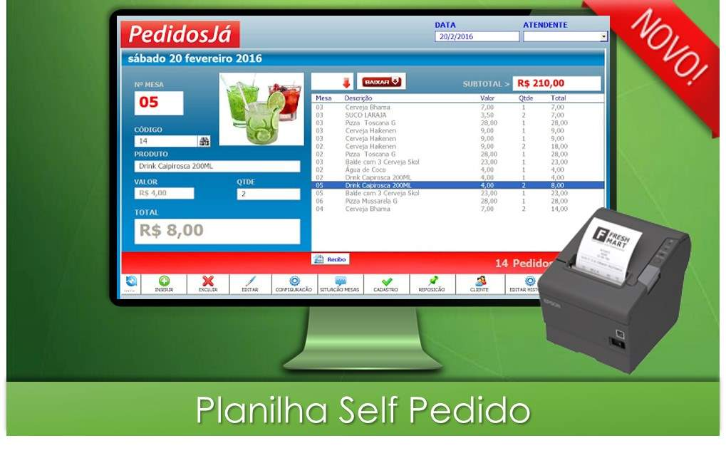 Self-Pedidos - Pizzaria e Restaurante - Delivery