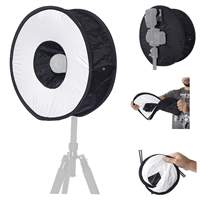 Softbox para flash speedlight dedicado - Ring speedlight