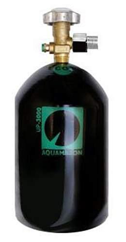 AQUAMAZON UP-3000 Cilindro 3 kg com adaptador p/ kits 300g
