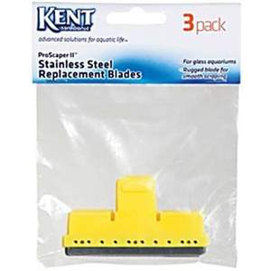 Kent Marine Pro Scraper II Replacement Stainless Steel Blades (3 Pack)