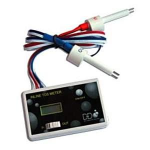 In Line TDS Meter (medidor de TDS duplo - entrada e saída)