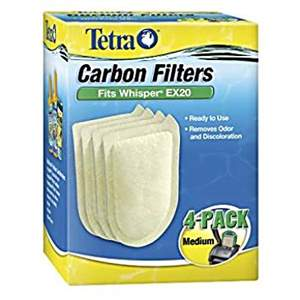 Tetra Whisper Ex 20 Carbon Filter - Medium (Unidade)
