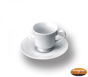 Xícara café c/ pires