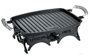 Rechaud retangular grill