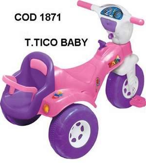 Tico Tico Baby Rosa