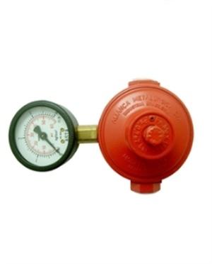 Regulador de Alta Pressão com Manômetro  9KG/h Ref. 76501/01