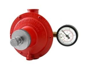 Regulador de Alta Pressão com Manômetro 15KG/h Ref. 76511/02