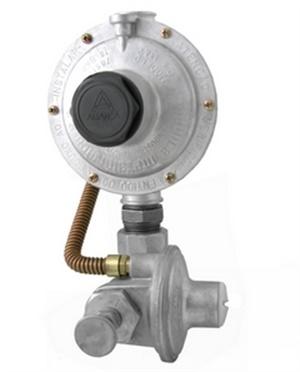 Regulador Industrial GLP e GN Ps= 650 mmca DSA Ref. 76511/15