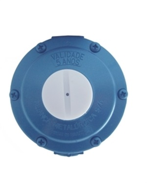 Reguladores Baixa Pressão Semi Industrial Azul Ref. 506/03