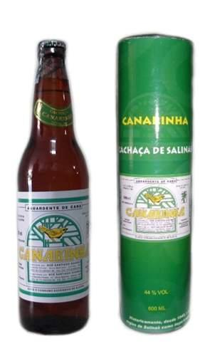 Cachaça Canarinha + Tubo Personalizado