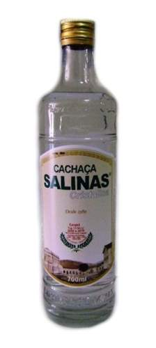 Cachaça Salinas Cristalina 700 ML