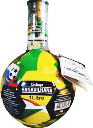 Cachaça Hanavilhana Copa especial 1000 ml