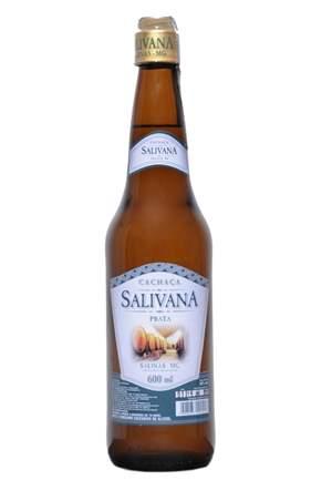 Cachaça Salivana Prata 600 ML