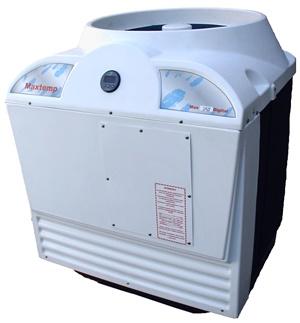 Aquecedor de Piscina, Bomba Calor trocador calor, Maxtemp Max 160