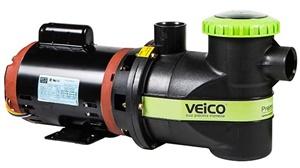 Bomba Para Piscina 1.1/2cv Veico Motor Weg 110/220v