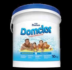 Cloro Piscina Balde 10kg Domclor Hipoclorito 65% Granulado