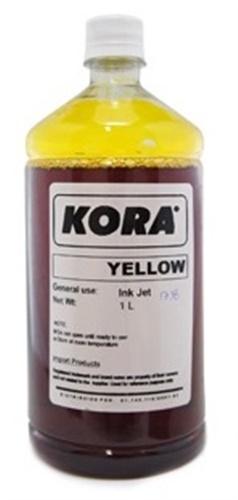 Tinta Amarela HP 1 Litro para Bulk Ink e Recarga de Cartucho, Tinta Universal HP | Lexmark | Canon