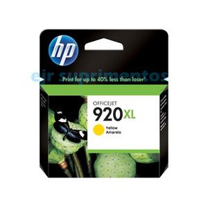 HP 920xl cartucho amarelo CD974AL
