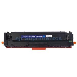 Toner para hp M154 M180 M181 154A 154NW 180N 180NW 181FW, cf 511 azul, 204A compatível