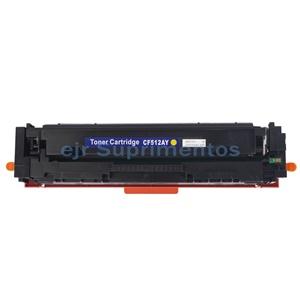 Toner para hp M154 M180 M181 154A 154NW 180N 180NW 181FW, cf 512 amarelo, 204A compatível