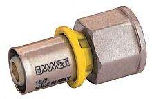 Conector Femea P/Gas 3/4x26mm Prensar