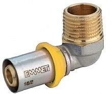 Cotovelo Macho P/Gas 16mmx1/2 Prensar