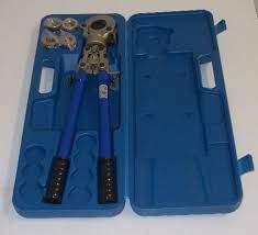Kit Alicate de Prensar 16/32mm já com matrizes