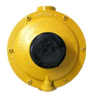 Regulador Amarelo 12 Kg/h Estagio Unico