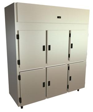 Refrigerador vertical inox 06 portas