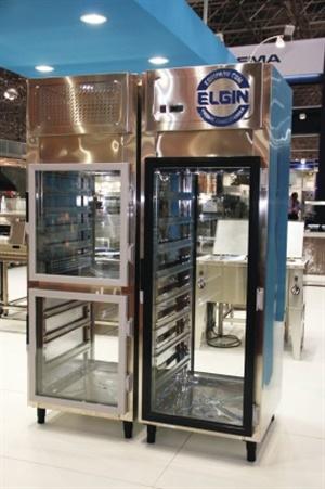 Passthrough refrigerado 700x800x2100 portas de vidro/inox - aço inox 304