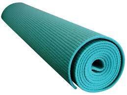 Tapete Para Yoga E Pilates Em Pvc Acte Sports Yoga Mat - Azul