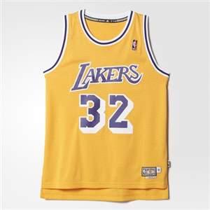 Camiseta Regata Adidas NBA Retired Los Angeles Lakers – Johnson - Amarelo