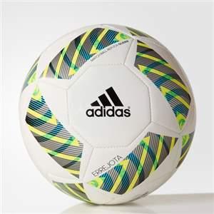 Bola Adidas Errejota Glider AC5397 - Branco/Preto/Amarelo
