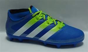 Chuteira Adidas Ace 16.3 Primemesh FG - Azul/Verde